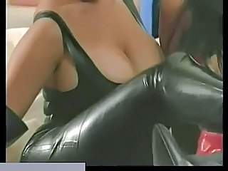 Kinky Lesbians In Boots Using Se...