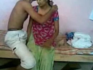 Messy yet passionate sex scene focusing on an amateur Indian couple