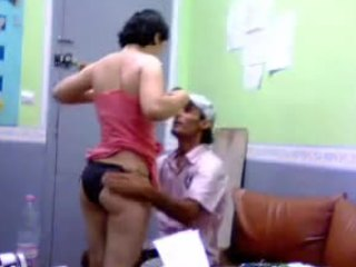 Punjabi hottie gets her ass smacked and then some in this voyeur video
