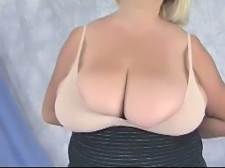 BBW Granny with Huge Boobs   Posing