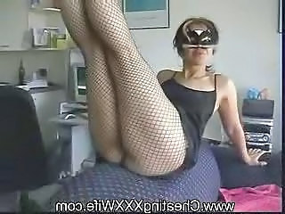 Kinky Mature Amateur Housewife Huge Anal Toys
