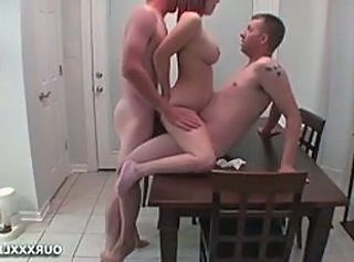 DP from Husband and Friend  : amateur double penetration threesomes