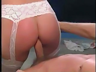 Sexy Brunette Nurse Sucks The Doctors Cock And Gets An Ass Fucking