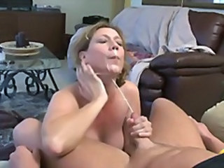 Cum shot compilation of nasty bitches jerking those wankers for the jizz juice