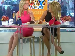 Hoda and Kathie Lee s Feet and Legs