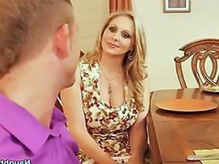 Julia Ann gets her pussy licked and fucked at the...