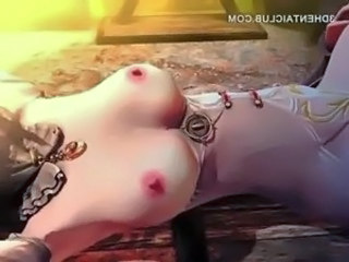 Tied up hentai sex slave gets cunt licked on table free