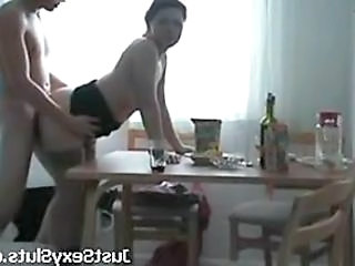 Hot Amateur Mature Fucked At Home