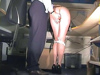 Spanked and pussy fingered