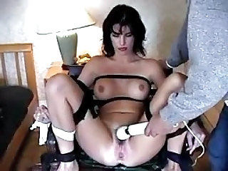 Alex Foxe Bound And Forced To Cum Smg