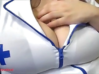 Massive Boobs Nurse will blow your thermometer