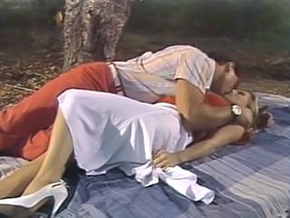 Nikki Charm and Steve Drake Having a Romantic Picnic