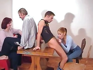 Redhead Russian Mom With Full Tits