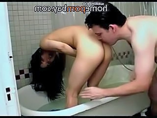 Chinese girl fucked in b ...