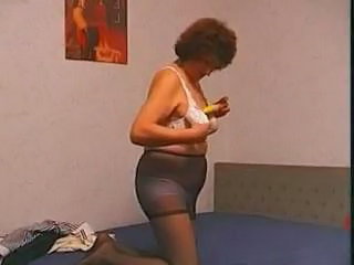 Hairy Granny loves her Toy Sex Tubes