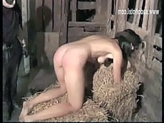 Blind folded brunette slave with beautiful body and nice tit free