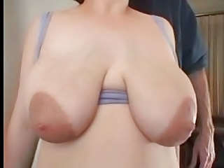 Big boobs, big areolas.