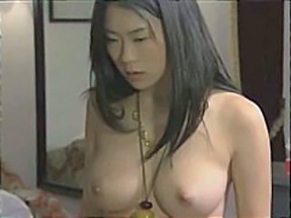 Sweet young Japanese housewives go lesbian and play with dildoes