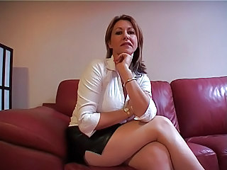 Sexy Milf Strict Jerkoff Instruction