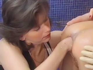 Enema to the fullest extent a finally anal fisted