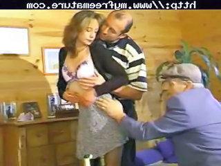 sharing his wife with old male mature grownup