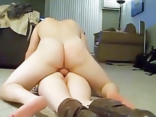 bottom lady screaming when getting butt on