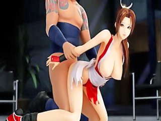 Mai Shiranui   gets fucked (3D hentai)