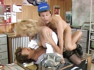 Joy Karin's  French Milf fucked in the Office
