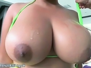 Busty ebony whore goes crazy sucking part5