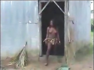 Real African Amateur Fuck On The Tree Part 1