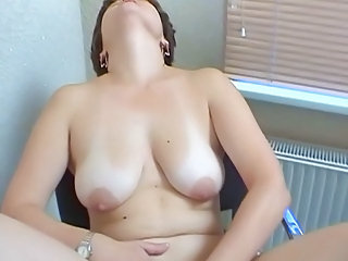 Russian pious mom first time at porn casting. Part 1