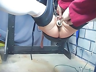 cute, cougar redhead acquires her vagina toyed