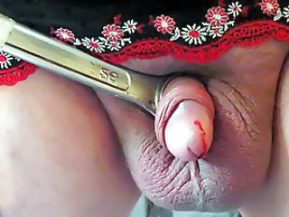COCK  BELL END TORTURE  CBT NEEDLE