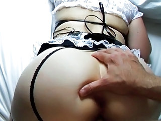 Splintered Maid Gets Rewarded  Used And Spanked...perso...