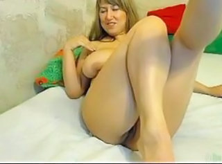 Hot chubby russian girl on webcam with orgasm!!!