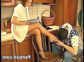 Humble Chick Pantyhose Softly Pounded  : nylon pantyhose