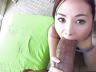 Petite Asian Girl destroyed by Huge Cock ctoan