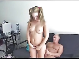 daddy punishes not his stepdaughter