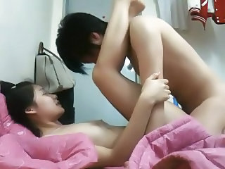 Asian College Lovers Homemade Scandal