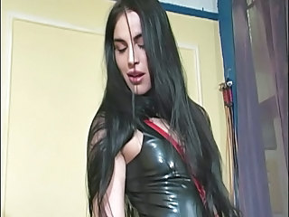 Hot Domina And Her Feet Slave