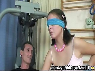 Thick Teen Brunette Gets To Suck Part3