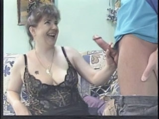 German Mature With Hairy Pussy