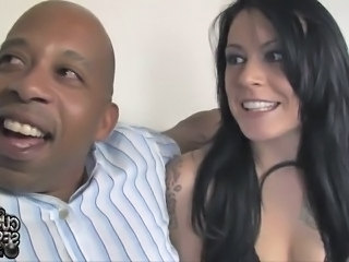 Cuckold mov Of the Husband Watching His housewife  large chocolate thing