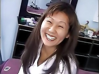 Crazy Chinese Girl Makes Porn Casting With Old Ed