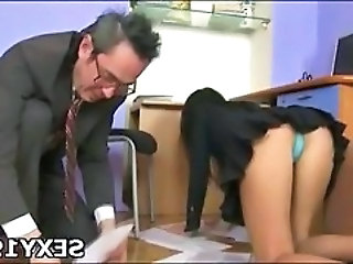 Sex appeal chick gets banged really hard