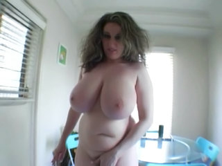 Big Titted Hairy Cunt Kitty Rides