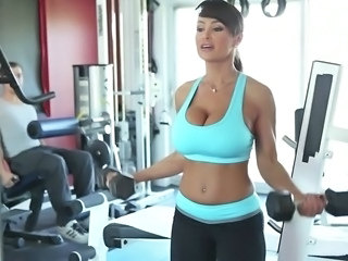 Great sex at the gym
