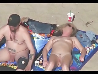 Nude Beach   Exhibitionists Pt 01