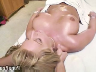 Busty blonde tit massage  Sex Tubes