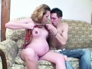 Young german tall boy fuck his pregnant Step mom hard